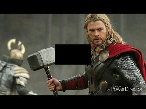Thor real life vs lego vs minecraft