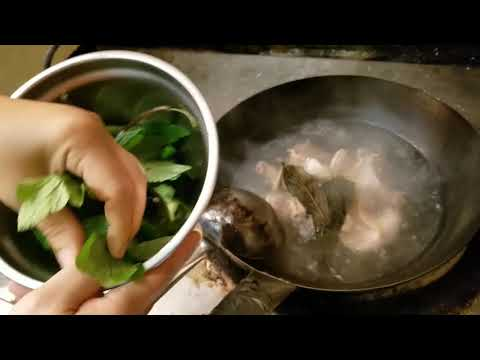 Rose - Hmong boiled chicken with herbs