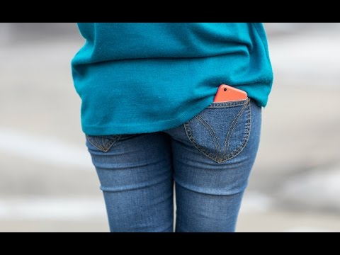 Carry your phone in your back pocket? Your life is at risk