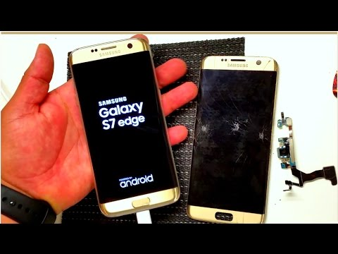 GALAXY S7 EDGE SCREEN REPLACEMENT AND CHARGING PORT