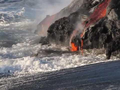 Kilauea Ocean Entry Nov 2 09