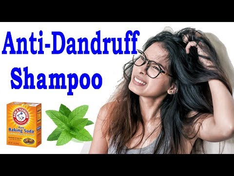 How To Make Anti Dandruff Shampoo At Home  -  Natural Way To Get Rid Of Dandruff
