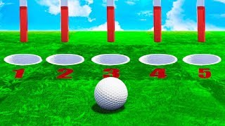 ONLY 1 HOLE IS THE WIN! (Golf It)