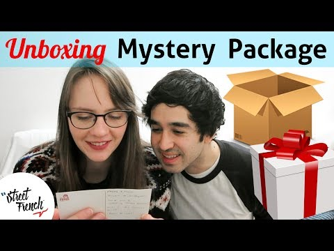 Unboxing Patreon Supporter Package !! 〰️ StreetFrench.org