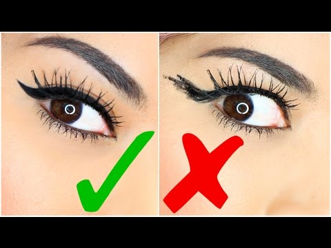 9 EASY EYELINER HACKS For Perfect Winged Eyeliner!