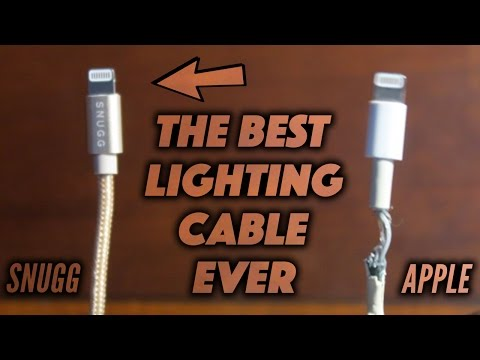 THE BEST LIGHTING CABLE EVER? | NEVER BUY ANOTHER CABLE AGAIN! (iPHONE CHARGER)