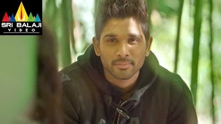Iddarammayilatho Movie Arjun & Amala Paul Scene| Allu Arjun, Amala Paul | Sri Balaji Video