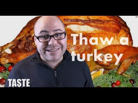 How To Thaw A Turkey