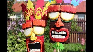 "Real-Life ""AKU AKU"" Masks (Crash Bandicoot)"