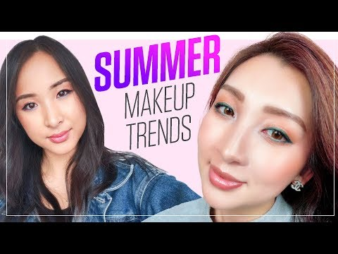 Full Face of 2018 Trends: Glowy Spring & Summer Makeup ☀️