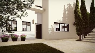 #x202b;תכנון בית פרטי במושב שורש - בית משפחת אלון#x202c;lrm;
