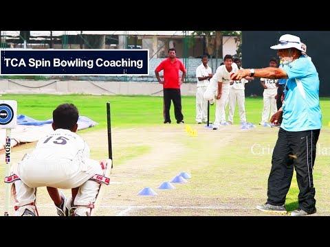 Telangana Cricket Association Spin Bowling Coaching By chief Coach Abid Ali - Cricket Hyderabad