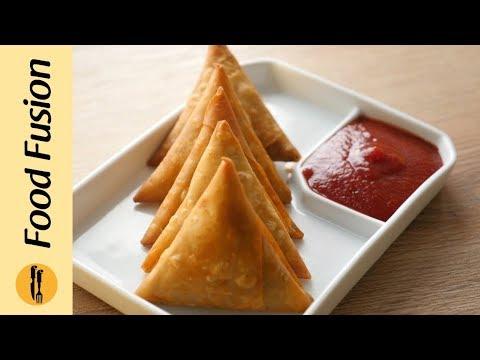 Qeema Samosa Recipe By Food Fusion (ramzan Special)