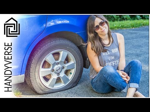 Flat Tire! Could you change it yourself if you had to? : EP 017