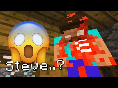 Found DEAD STEVE with PROOF in MINECRAFT! (Scary Minecraft Video)