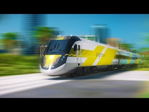 125 MPH to Orlando with Brightline Express Trains