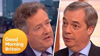 Nigel Farage and Piers Morgan Passionately Defend Donald Trump