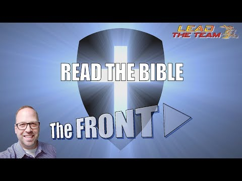 Read The Bible | The FRONT #75 | Mike Phillips / Faith / Motivation / Podcast / Leadership