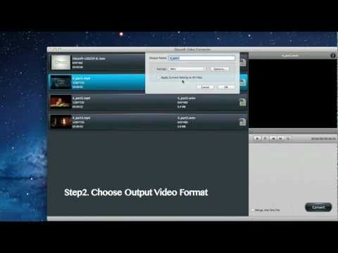 How to Convert Videos to MP4 on Mac OS X Lion Video