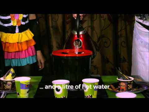 How to Create Spooky Effects With Chillistick's Halloween Witch's Pail