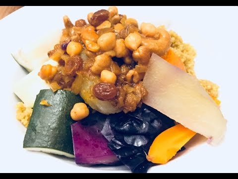 Cus cus de Quinoa con Siete vegetales