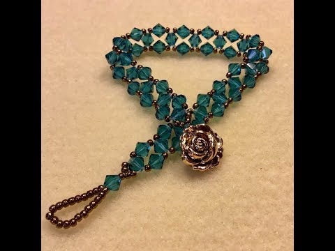 One Thread Right Angle weave Bracelet