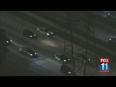 Police call off low-speed chase after 30 minutes and let driver go