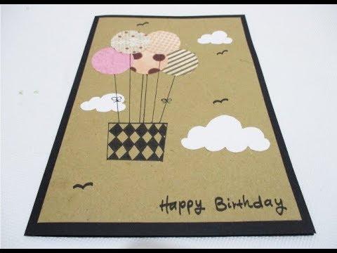DIY : #214 Birthday Card ❤