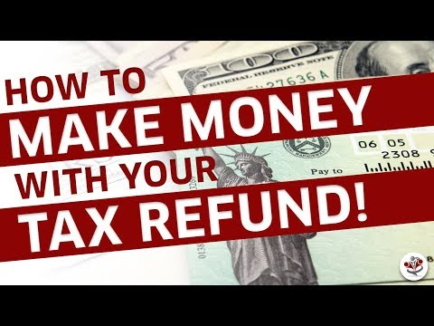 BEST WAYS TO SPEND YOUR TAX REFUND CHECK (To Grow Cash Flow)