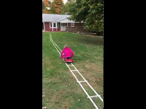 Build Your Own Portable Roller Coaster