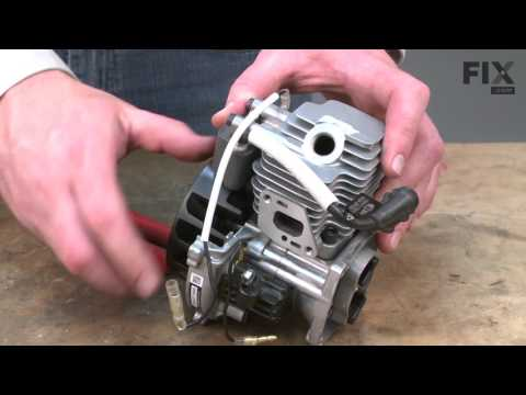 Echo Trimmer Repair – How to replace the Piston Ring