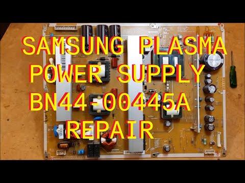 Samsung Plasma Power Supply  Repair BN44-00445A Power Factor Correction