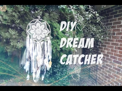 ☁ DIY Dreamcatcher