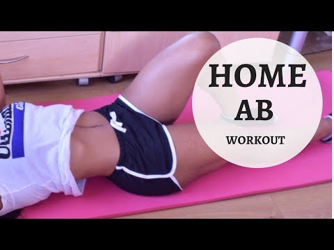 6 MINS HOME ABS WORKOUT! EXERCISES FOR A FLAT BELLY! (NO EQUIPMENT/ BEGINNER FRIENDLY)