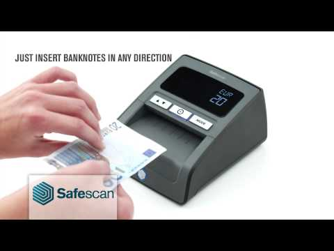 Safescan - 155 Auto Counterfeit Banknote Detector