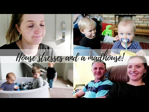 HOUSE STRESSES AND A MADHOUSE | THE SATURDAY VLOG #34 | CARLY ELLEN