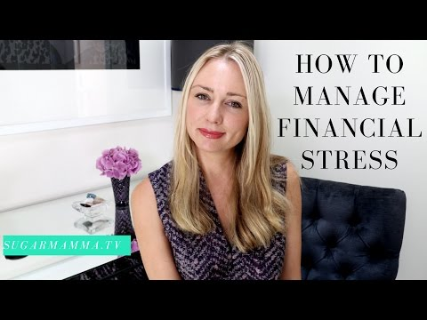 How to manage financial stress - easy steps to follow! || SugarMamma.TV