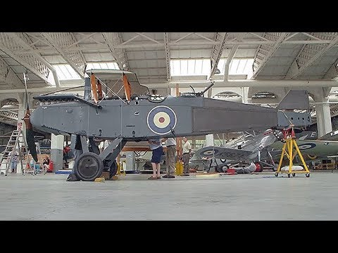 Historic World War One Airco DH9 bomber restored to former glory