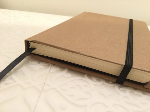 DIY Moleskine Journal/Sketchbook Textblock (Part 1)