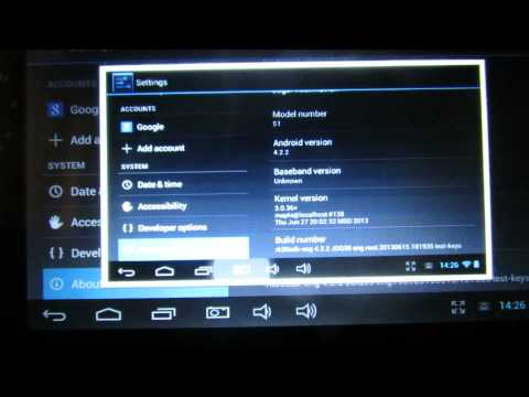 Android Jelly Bean 4.2.2 firmware installed on Pipo S1 tablet