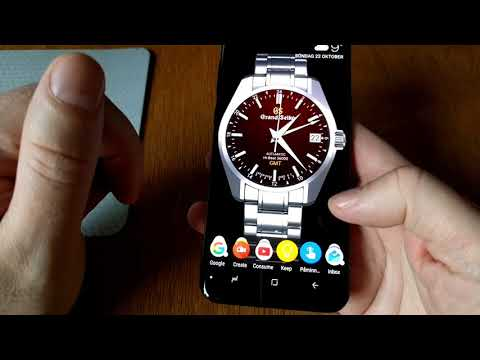 How to use a watch face as a live wallpaper on your Android phone
