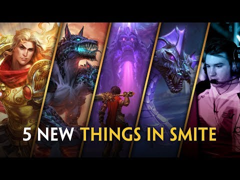5 New Things in SMITE!