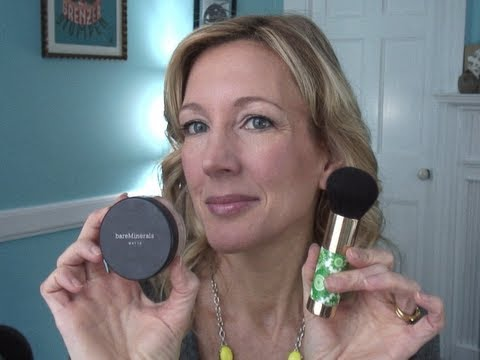 Mineral Foundation Tutorial ~ Mature, Over 50 Skin