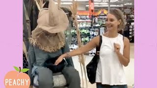 These Girls Can SCREAM! 💀😂 | Halloween Scares | Funny Moments Peachy