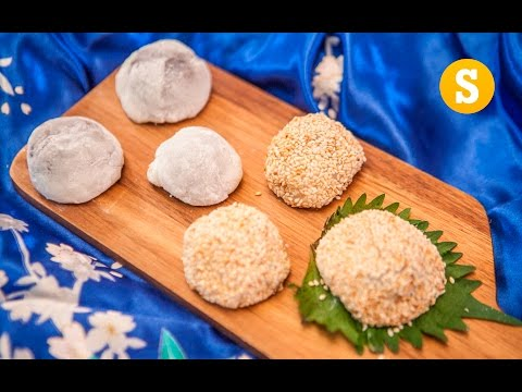 Red Bean Mochi Recipe - SORTED Eats Japan