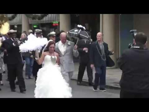 New Orleans Wedding Second Line ~ 12/20/2014 ~ Louisiana