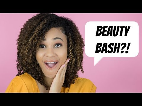 EXCITING ANNOUNCEMENT!!!! #BEAUTYBASH