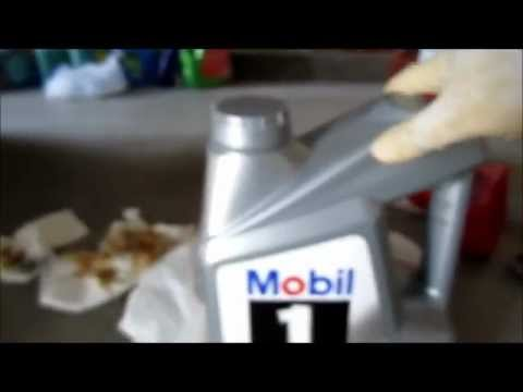 Mobil1 Full Synthetic Oil Change on Acura