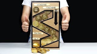 How to Make Chocolate Coin Vending Machine