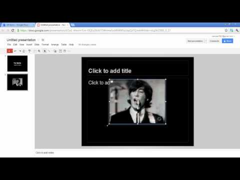 How to link online videos in powerpoint presentations using Google docs